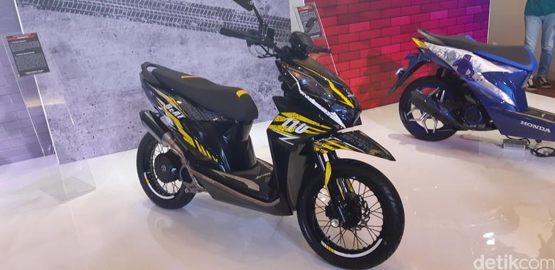 Modifbiker Gambar Biaya Modifikasi Motor Beat Jadi Trail 2019