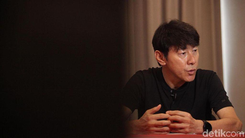 Latih Indonesia, Shin Tae-yong Tak Takut Reputasinya Rusak