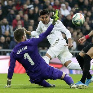 Real Madrid Vs Sevilla: Dwigol Casemiro Menangkan Los Blancos 2-1
