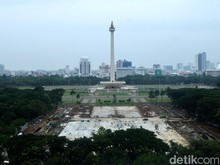 Pemprov DKI: Monas Akan Dibuat Terbuka Seperti Lapangan Banteng