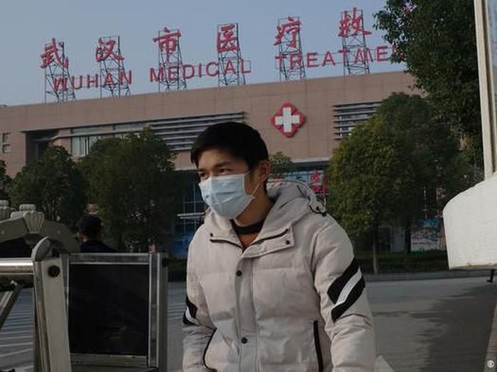Cina Laporkan Kematian Kedua Akibat Virus Corona Jenis Baru (Getty Images/AFP/N. Celis)