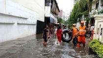 Sempat Capai 50 Cm, Banjir di Kebayoran Baru Jaksel Mulai Surut