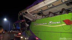 Evakuasi Bus Maut Tewaskan 8 Orang di Ciater Subang, 3 Derek Dikerahkan