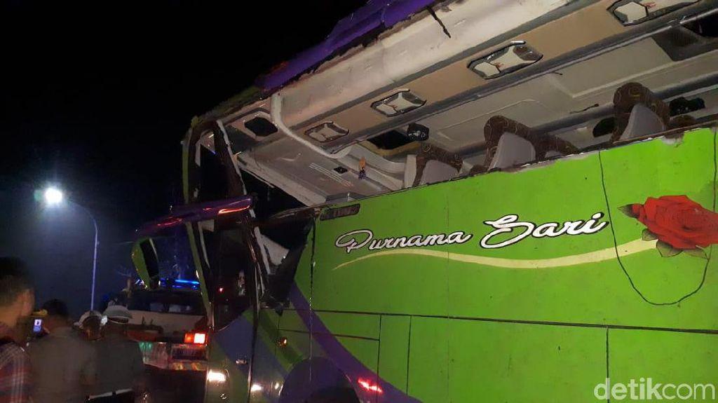 Bus Pariwisata Kecelakaan, 8 Nyawa Melayang di Subang