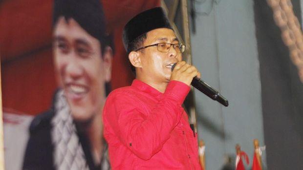 Ketua DPC PDIP Kota Tangerang Gatot Wibowo hadir dalam tabligh akbar bertajuk 'Doa untuk Negeri'.