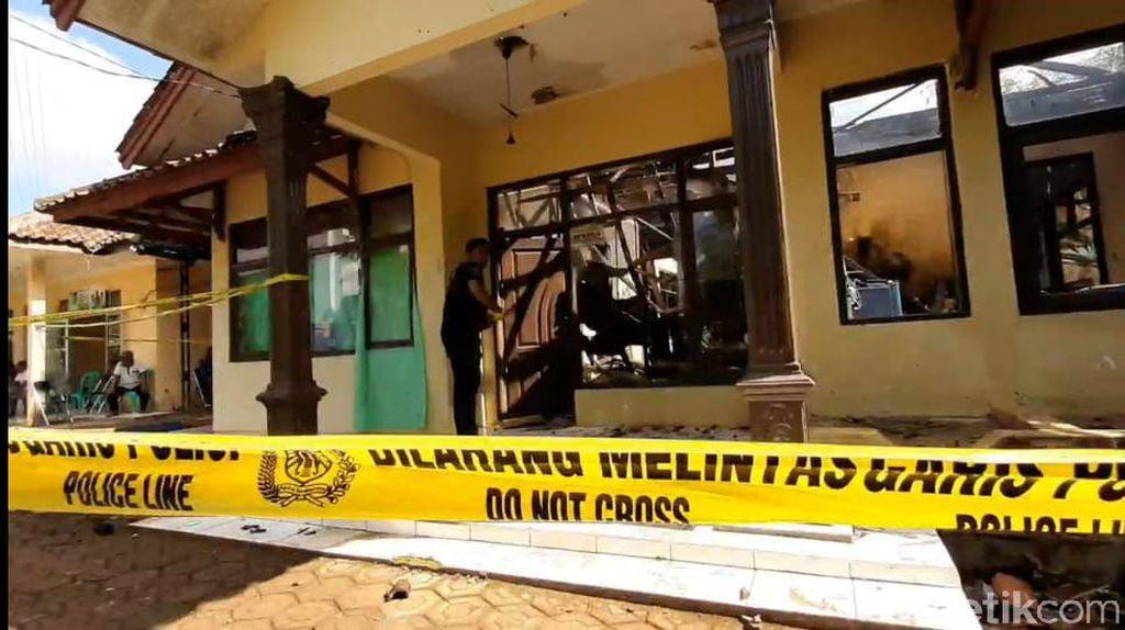 Dua Kali Didemo Warga, Kantor Desa Neglasari Tasik Terbakar Tadi Subuh
