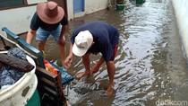 Tak Ada Pompa Air, Ini Cara Petugas Bikin Banjir di Kebayoran Baru Surut