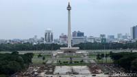 Pemprov DKI Tepis Kabar Kejanggalan Kontraktor Proyek Monas
