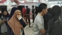 Dapur Restoran Mendadak Berasap Bikin Pengunjung Mal di Makassar Panik