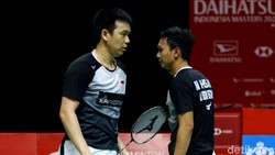 Hasil Thailand Open 2021: Hendra/Ahsan Gagal ke Empat Besar