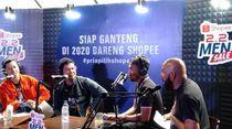 Andika Babang Tamvan Bagikan Resolusi Pria Ganteng Lewat Podcast