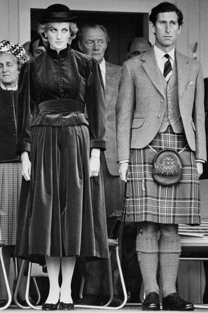 Diana, Princess of Wales, and Charles, Prince of Wales, in Scotland, UK, 5th September 1983. (Photo by Steve Wood/Daily Express/Hulton Archive/Getty Images)