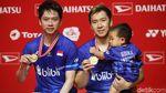 The Minions Juara Ganda Putra Indonesia Masters 2020