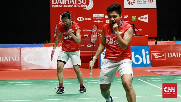 Greysia Polii/Apriyani Rahayu jadi andalan tim putri Indonesia di sektor ganda. (
