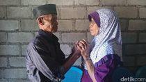 Pengantin Baru! Kisah Perkenalan Kakek 91 Tahun dan Nenek 72 Tahun di Sleman