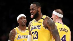 Hasil NBA: James Gemilang, Lakers Tundukkan Rockets