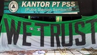 Suporter PSS Sleman Terus Lakukan Perlawanan ke Manajemen