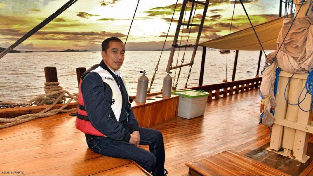 Jokowi Cek Proyek Pendukung Pariwisata di Labuan Bajo Hari Ini