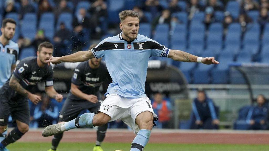 Immobile Ingin Lampaui Rekor Gol Higuain di Serie A