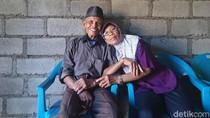 Intip Mesranya Pengantin Baru Kakek 91 Tahun dan Nenek 72 Tahun di Sleman