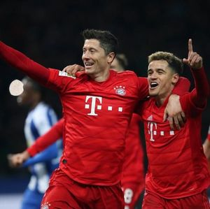Hertha Berlin Vs Bayern Munich: Die Roten Menang 4-0