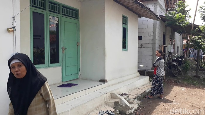 Rumah Raden Rangga Petinggi Sunda Empire di Desa Grinting, Brebes, Minggu (19/1/2020).