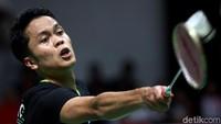 Anthony Ginting Gagal Revans, Kandas di Babak Kedua Thailand Open