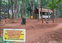 Taman Hutan yang Punya Benteng di Sumedang