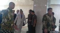 Hadiri Rapat di Komisi I DPR, Prabowo: Bahas Natuna-Pembangunan Kekuatan