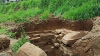Mau Bikin Septic Tank, Warga Temukan Bangunan Diduga Candi di Dieng
