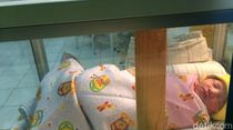 Bikin Sedih, Bayi Cantik Ini Ditaruh Dekat Jurang di Sleman