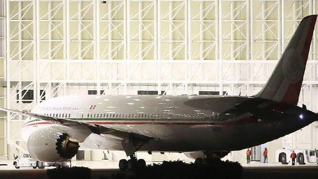 Pesawat Jet Presiden Meksiko Mau Dilelang, Harganya Fantastis!