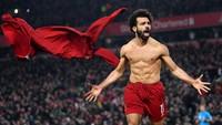Liverpool Vs Man United: Mohamed Salah Tuntaskan Penasaran