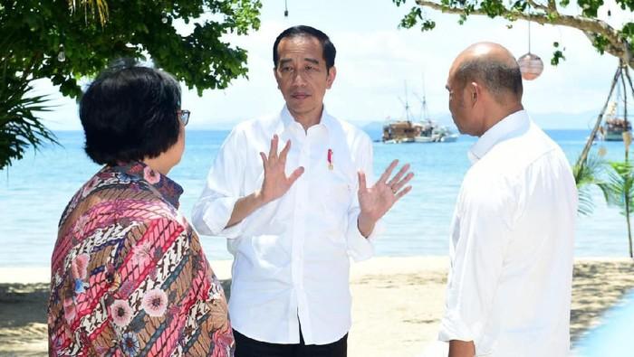 Kunjungan kerja Jokowi di Labuan Bajo.