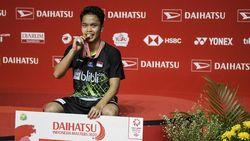 Juarai Daihatsu Indonesia Masters, Anthony Persembahkan Gelar untuk Ibu