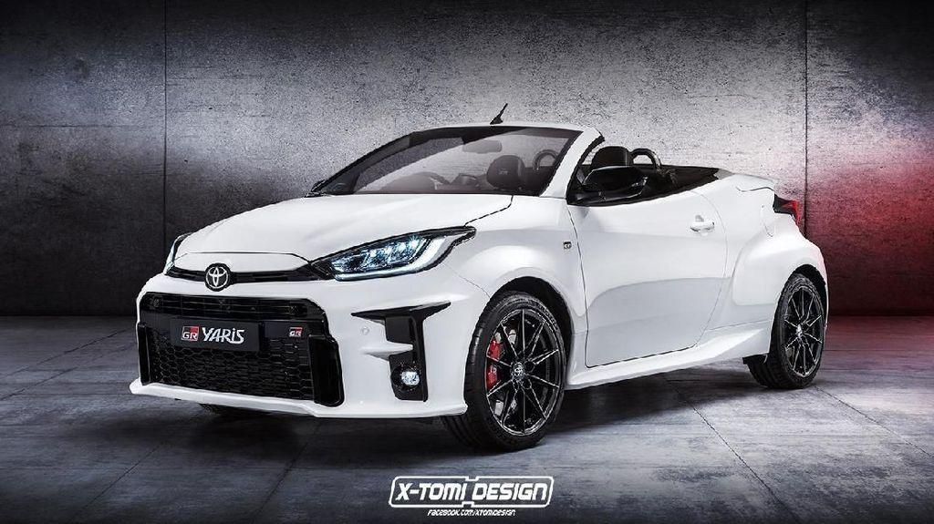 Saat Toyota GR Yaris Tampil Tanpa Atap