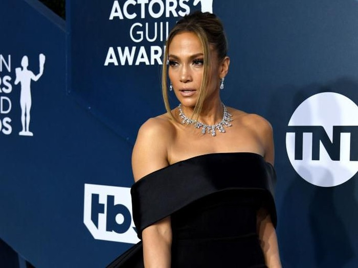 LOS ANGELES, CALIFORNIA - JANUARY 19: Jennifer Lopez attends the 26th Annual Screen Actors Guild Awards at The Shrine Auditorium on January 19, 2020 in Los Angeles, California. (Photo by Jon Kopaloff/Getty Images)
