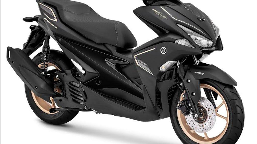 Yamaha Kenalkan Xmax dan Aerox Versi Maxi Signature
