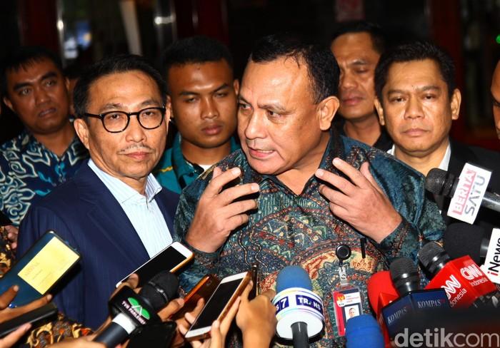 Pimpinan KPK menemui pimpinan Komisi III DPR. Apa yang dibahas?