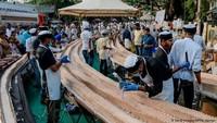 Pecahkan Rekor! Kue Terpanjang di Dunia Ini Panjangnya 6,5 Kilometer