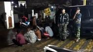 Gerombolan Motor Bersenjata Tajam Satroni Warga Parungseah Sukabumi