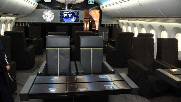 Pesawat Jet Kepresidenan Meksiko mau diraffle