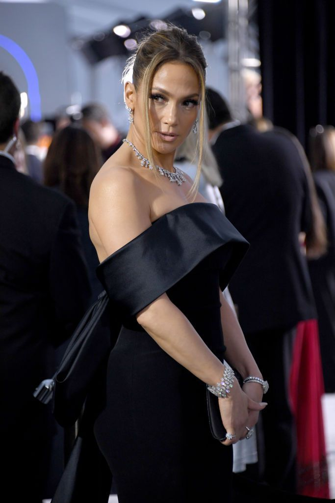 LOS ANGELES, CALIFORNIA - JANUARY 19: Jennifer Lopez attends the 26th Annual Screen ActorsGuild Awards at The Shrine Auditorium on January 19, 2020 in Los Angeles, California. (Photo by Jon Kopaloff/Getty Images)