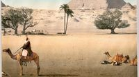 Foto Berwarna Langka Tahun 1899 Tentang Afrika Utara