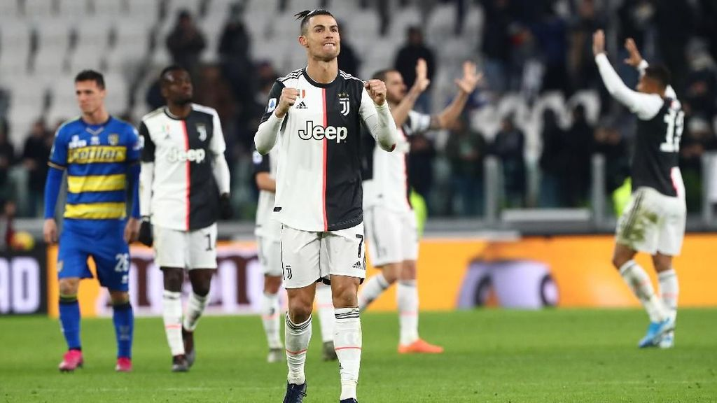 Video 2 Gol Ronaldo ke Gawang Parma