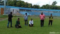 PSM Makassar Cek Langsung Stadion Gelora Mandiri di Pare-Pare