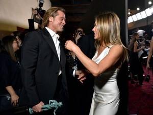 5 Fakta Pertemuan Brad Pitt dan Jennifer Aniston, Bikin Gemas