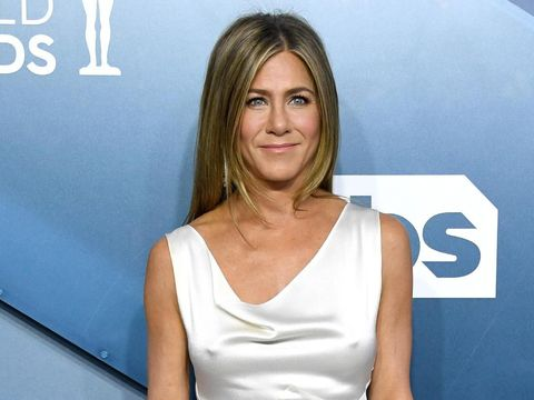 LOS ANGELES, CALIFORNIA - JANUARY 19: Jennifer Aniston attends the 26th Annual Screen Actors Guild Awards at The Shrine Auditorium on January 19, 2020 in Los Angeles, California. (Photo by Jon Kopaloff/Getty Images)