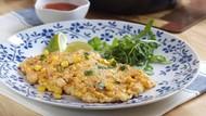 Cara Membuat Omelet Jagung ala Thai Buat Sarapan