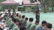 Pelajar Bandel di Karawang Akan Digembleng Militer di Markas TNI